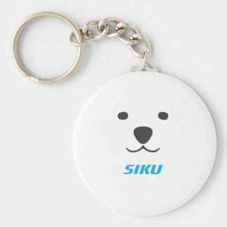 Siku The Polar Bear Keychain