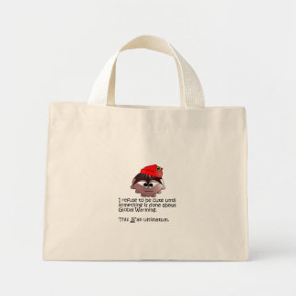 """Sileghea """"This is an ultimatum"""" red flower bag"""