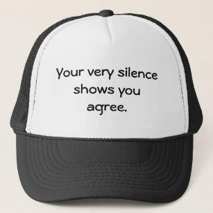 """SIlence"" Hat"