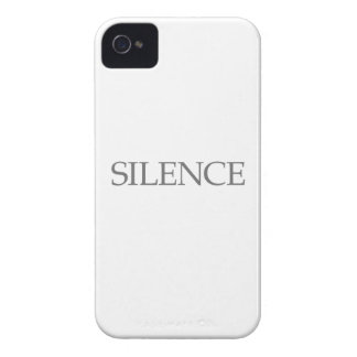 Silence iPhone 4 Cover