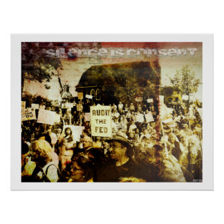Silence Is Consent Poster