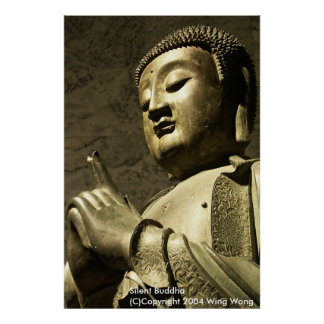 Silent Buddha Poster