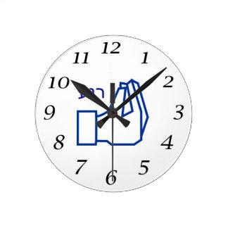 Silent Clock - Hebrew