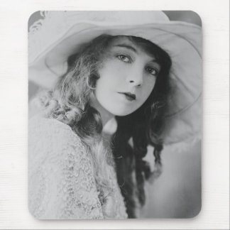 Silent Film Star Lillian Gish Mouse Pad