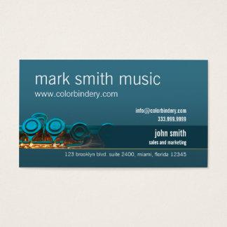 Silent Flute Business Card