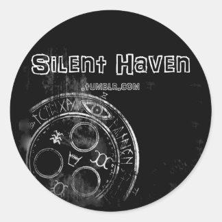 Silent Haven sticker 2