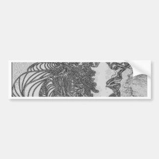 Silent Man Bumper Sticker
