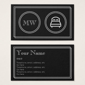 """Silent Movie"" B&B Business Cards"