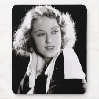 Silent Movie Star Fay Wray Mouse Pad