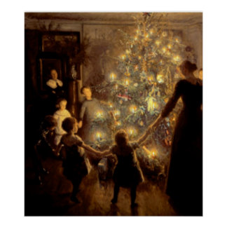 Silent Night 1891 Poster