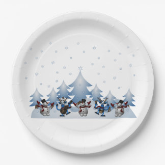 Silent Night? Christmas Party Paper Plates