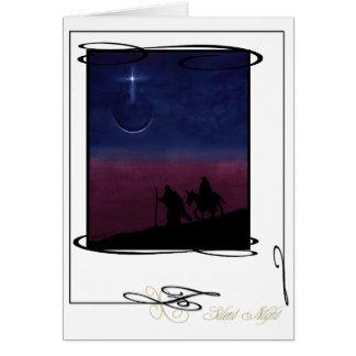 """""""Silent Night"""" Holiday Card"""