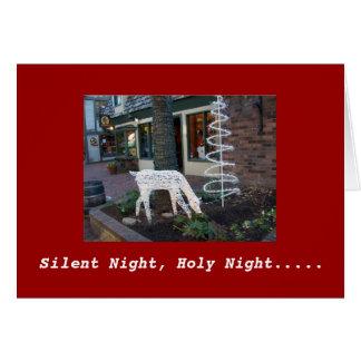 Silent Night, Holy Night Card