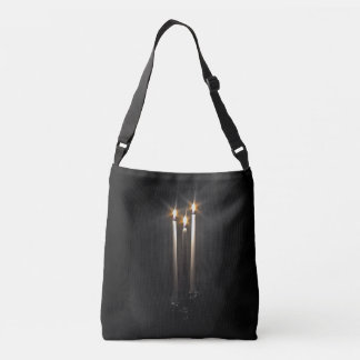 Silent Night Holy Night Trinity Candle Crossbody Bag