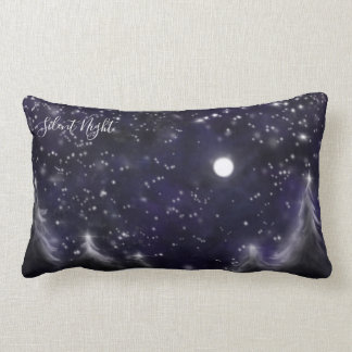 Silent Night Lumbar Pillow