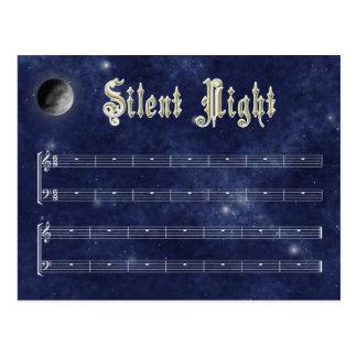 Silent Night postcard