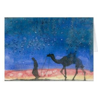 Silent Night Shepherd Card