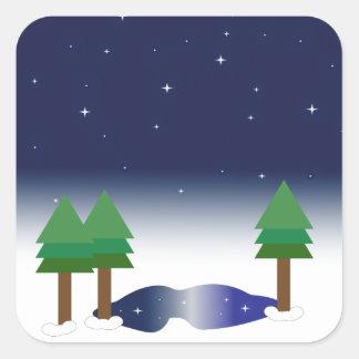 Silent Night Sticker