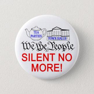 Silent No More! button