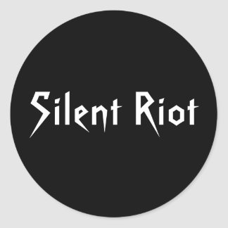 Silent Riot Stickers