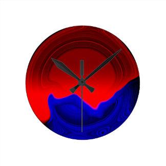 Silent Round Clock