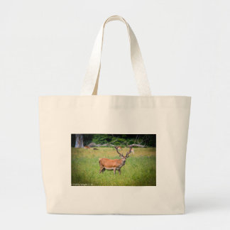 Silent Stag Large Tote Bag