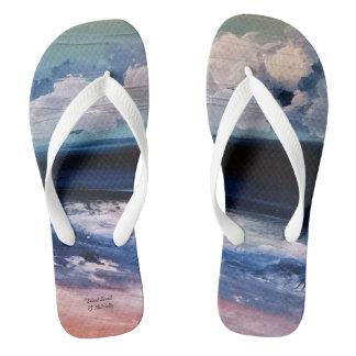 """Silent Stroll"" Flip Flops"