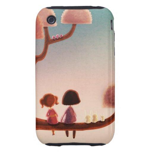 Silent sunlight iphone case tough iPhone 3 cover