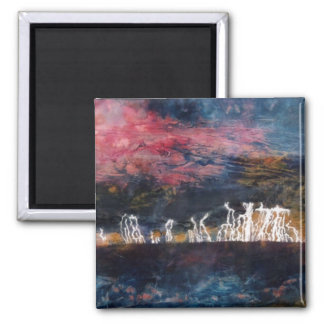 """Silent Thunder #2"" Abstract Art Magnet"