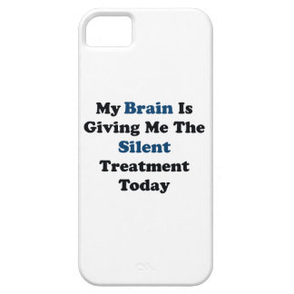 Silent Treatment iPhone 5 Cases