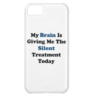 Silent Treatment iPhone 5C Case