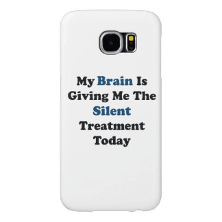 Silent Treatment Samsung Galaxy S6 Cases