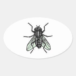 Silent Wallpaper Oval Sticker