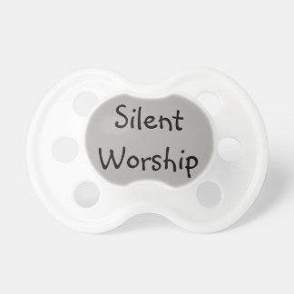 Silent Worship Pacifier