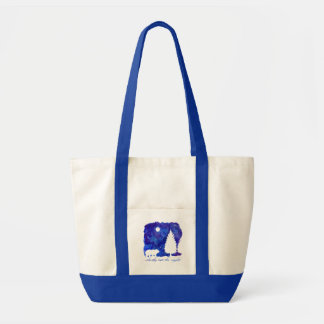 Silently into the Night Tote Bag