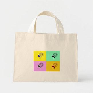 Silhouetette Portrait Tote Bag