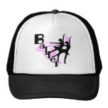 Silhouette Ballet T-shirts and Gifts Mesh Hat