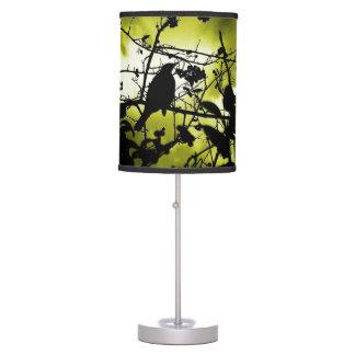 Silhouette Birds Desk Lamps