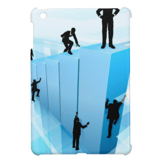 Silhouette Business People Competition Concept iPad Mini Covers