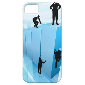 Silhouette Business People Competition Concept iPhone 5 Case