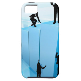 Silhouette Business People Competition Concept iPhone 5 Cases