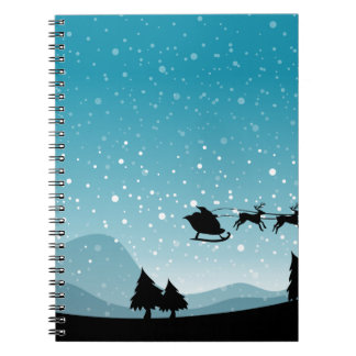 Silhouette Christmas Notebooks