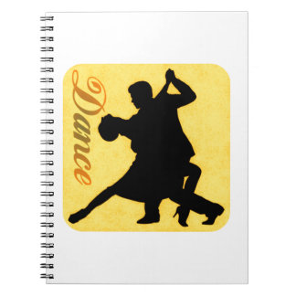 Silhouette Dancing Couple Notebooks
