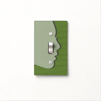 Silhouette Design - Green - Light Switch