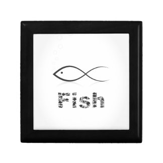 Silhouette fish2 gift box