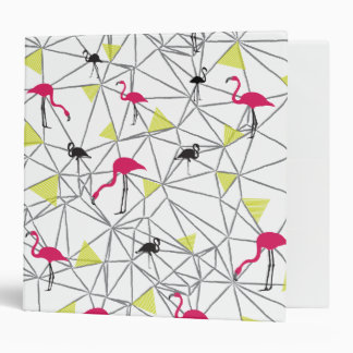 "Silhouette Flamingo - Avery Signature 2"" Binder"