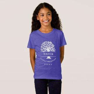 Silhouette Girls Family Tree Reunion Souvenir Gift T-Shirt