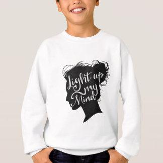 Silhouette - light up my mind sweatshirt