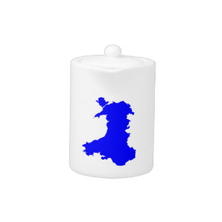Silhouette Map Of Wales