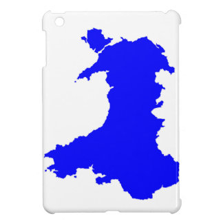 Silhouette Map Of Wales iPad Mini Cases